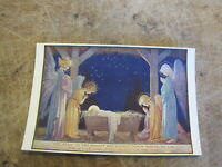 Artist Margaret Tarrant Postcard - Nativity Scene with Angels