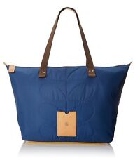 DESIGNER ORLA KIELY QUILTED NYLON OCEAN TOTE CARRY ALL ZIP SHOPPER BAG