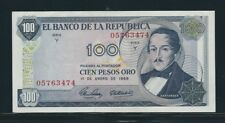 COLOMBIA BANKNOTES $100 1968