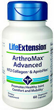 Life Extension, ArthroMax Advanced, NT2 Collagen & ApresFlex, 60 Vegetarian Caps