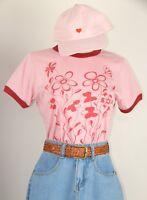 Womens Flower Print on 100% cotton quality Tees- American Apparel Bella Gildan