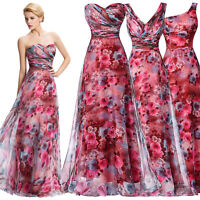 Long Short Bohemia Evening Ball Gowns Party Formal Wedding Bridesmaid PROM Dress