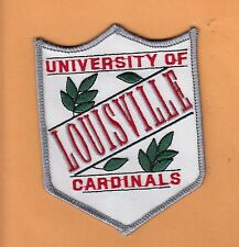VINTAGE OLD 4 1/2 inch PATCH UNIV of LOUISVILLE CARDINALS UNUSED STOCK