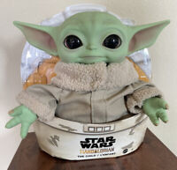 BABY YODA PLUSH The Child Mandalorian Star Wars 11 in Mattel Official Fast Ship