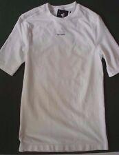 Adidas Techfit Compresión Blanco Camiseta Top de manga corta para hombres talla XL nuevo
