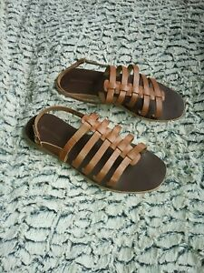 Warehouse Womens gladiator sandals size 5
