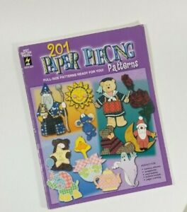 201 Paper Piecing Patterns HOTP 2257 for Scrapbooking Memory Albums Card Making