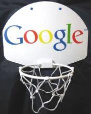 Mini Plastic Basketball Hoop Over Door Wall Mount Google W/ Glow Ball