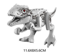 Kids Gifts Indominus Rex Jurassic World - 5 Inches Tall Big Dinosaur For Lego