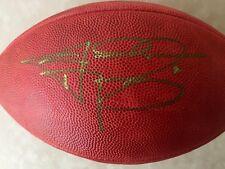 JOHNNY MANZIEL Signed Autographed NFL GAME BALL w/COA TEAS A&M HEISMAN