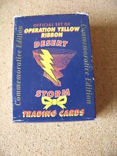 Operation Yellow Ribbon Desert Storm collector card factory boxed set cards