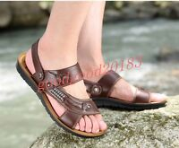 Hot Sale Mens Roma Beach New Sandals Summer Slippers Casual Outdoor Pu Leather 8