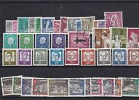 germany berlin used+mnh stamps ref 12513
