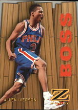 Allen Iverson #8 Z Force Skybox 1997/98 NBA Basketball Card