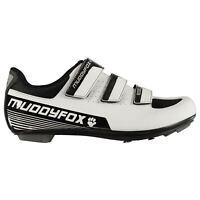 Muddyfox Mens RBS100 Cycling Shoes Road Breathable Mesh Panels Hook and Loop