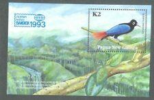 Papua New Guinea-Birds-Bangkok-1993 min sheet mnh