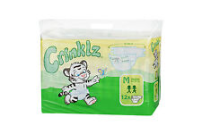 Crinklz Adult Disposable incontinence nappy, Diaper- Pack 15, ABDL - MEDIUM SIZE