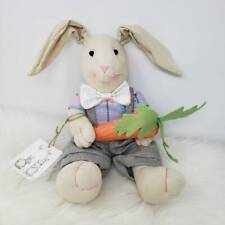 Organic Hip + Hop Bunny Weighted Plush Easter Bunny Rabbit Stuffed Animal