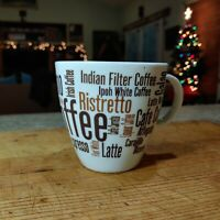 Porcelain Coffee Mug, Cafe Cubano, Café Con Leche, Latte - Bed Bath & Beyond