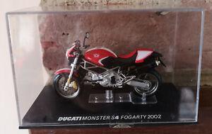 Ducati MONSTER S4 FOGARTY Motorbike 1/24, IXO - Rare