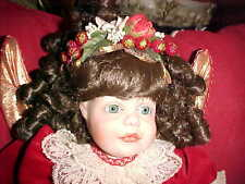 Christmas Angel Doll, Nos By House Of Faberge, Written On Back Of Neck 329