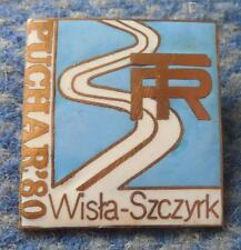 FIS BESKIDY CUP SKI JUMPING NORDIC COMBINED POLAND SZCZYRK WISLA 1980 PIN BADGE