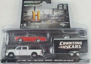 1:64 GreenLight Counting Cars Hollywood Hitch/Tow 8 Dodge Ram Charger