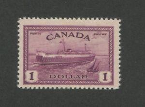 1946 Canada Stamp #273 Mint Never Hinged Very Fine Original Gum