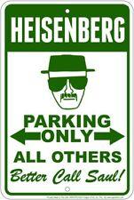 Heisenberg Parking Only / Better Call Saul 8x12 metal sign