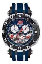 Tissot Men's Nicky Hayden Chronograph Blue Band Watch T0924172705703