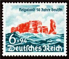 Nazi Occupied Heligoland Island 1940 MH Sc#B176, Free Shipping,See Detail (6697)