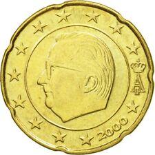 [#582309] Belgique, 20 Euro Cent, 2000, TTB, Laiton, KM:228