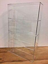 "Acrylic Lucite Countertop Display Case ShowCase Box Cabinet 14"" x 4 1/4"" x 23""h"