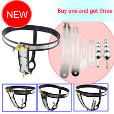 Amazing Price Stainless Steel Female Underwear Chastity Belt For Party A183-1