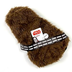 Star Wars Chewie Pet Costume Chewbacca Hoodie Petco Small