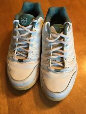 e48b1bd6b5e NIKE AIR GOLF SHOES WHITE GREEN TRIM - WOMEN S SZ 8 SPIKE LESS