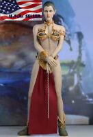 1/6 Star Wars Princess Leia Organa Slave Seamless Female Figure Set ❶IN STOCK❶