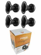 "4x Pro 2"" Compression Horn Driver 8 Ohm Titanium 800W PRV Car Audio WG2500Ti"