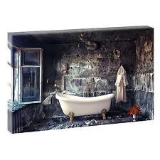 Badezimmer Bild auf Leinwand Poster Modern Design Wandbild XXL 120 cm*80 cm 315