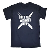 Dont Mess With The Chef T-SHIRT Cooking Grill Kitchen Bbq Funny birthday gift