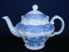 Vintage Spode Blue CAMILLA 5-Cup Teapot with Lid