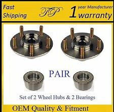 FRONT Wheel Hub & Bearing Kit FOR 2006-2013 MAZDA 3 (PAIR)