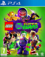 Lego Dc Super Villains PS4 PLAYSTATION 4 Warner Bros