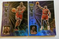 1999 Michael Jordan Upper Deck Idnix Area 23 #A8, A9