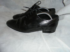 RUSSELL & BROMLEY MEN BLACK LEATHER LACE  SHOES SIZE UK 8 EU 42 VGC