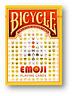 Bicycle - Emoji Jugando a las Cartas Póquer Juego de Cartas Cardistry