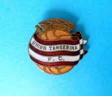 UNION TANGERINA FC Tanger Marocco football soccer club old enamel pin badge foot