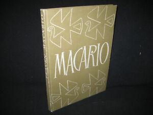 B. Traven , Macario , EA 1950 Erstausgabe