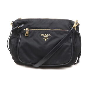 Prada Shoulder Bag  Black Nylon 2201650