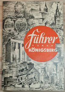 Reiseführer durch KÖNIGSBERG in OSTPREUSSEN (1937)